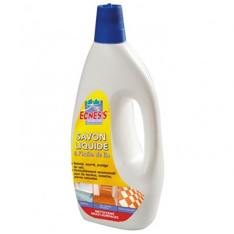 ECNESS savon noir à l'huile de lin 1L