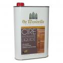 Cire antiquaire SAINT WANDRILLE liquide chêne foncé 1l