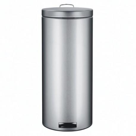 poubelle p dale 30l mat steel brabantia les poubelles. Black Bedroom Furniture Sets. Home Design Ideas