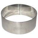Cercle à gâteaux en inox d.9cm h.3.5 cm PATISSE