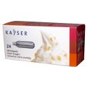 REMPLACER - Boite de 24 cartouches crème chantilly KAISER