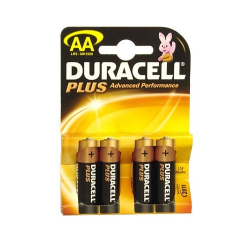 Pile alcaline AA/LR06 Duracell Plus Power x 4