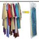 Housse de vêtement sous vide + cintre 70 x 145 cm