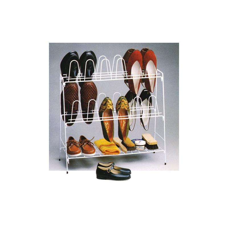 En Pour Fil 12 Pratique Rayen Range Paires Plastifié Chaussures ZkXiuP