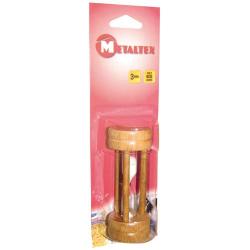 Sablier bois 3minutes METALTEX