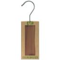 2 cintres Kapo antimite en bois de cèdre