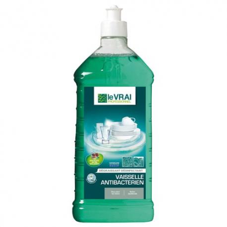 LE VRAI liquide vaisselle antibactérien 1l