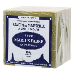 Savon Marseille huile d'olive 400gMARIUS FABRE
