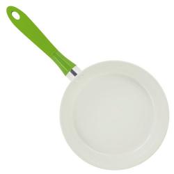 Poêle 24cm Evergreen Memory ceramique blanc