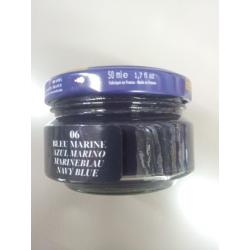Pommadier Saphir pot 50ML bleu marine