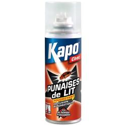 Kapo Choc contre les punaises de lit Aérosol diffusion continu 200ml
