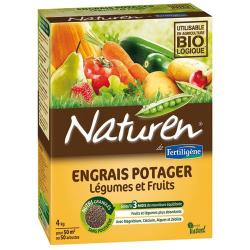 Engrais potager fruitier 4kg Naturen - Fertiligène