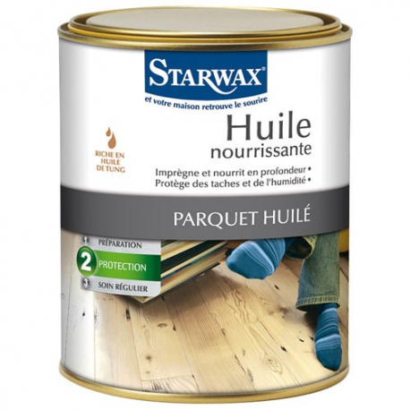 huile parquets starwax 1l entretien des parquets mulsion et huile droguerie paris. Black Bedroom Furniture Sets. Home Design Ideas