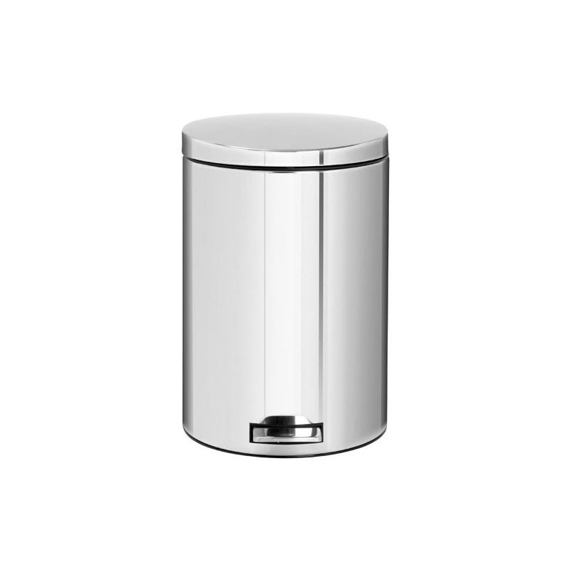 poubelle p dale 20l motion control brilliant steel les. Black Bedroom Furniture Sets. Home Design Ideas
