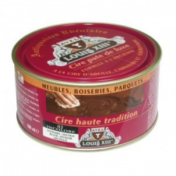 Cire pâte de luxe haute tradition Louis 13 AVEL noyer 500ML