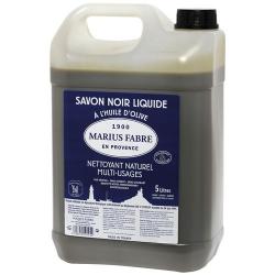 Savon noir liquide de marseille 5L MARIUS FABRE