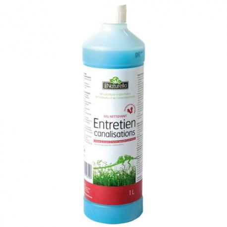 Nettoyant gel canalisations naturella 1l