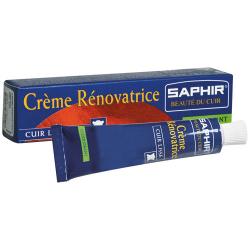 Crème rénovatrice SAPHIR tube 25ML marron clair