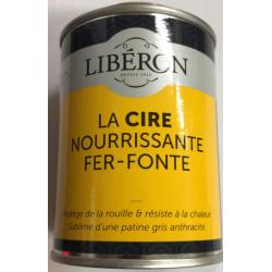 Crème Chaumont Liberon 250ML- Cire de ferronnerie nourrissante liberon noir graphit