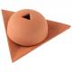 Bruleur papier Arménie céramique marron