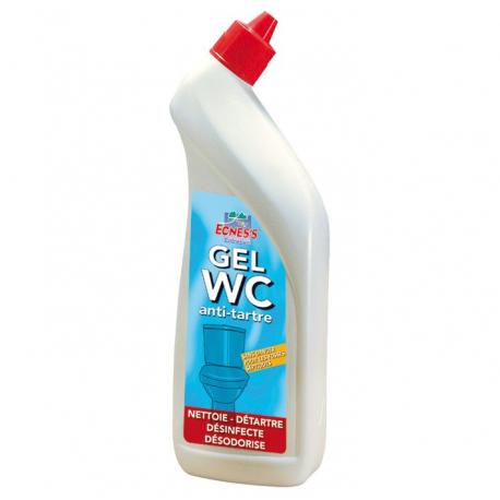 Ecness détartrant wc gel concentré 750ML
