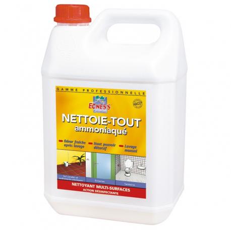 Ecness nettoie-tout ammoniac 5L