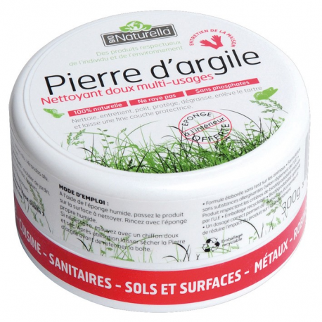 Pierre argile naturella pot de 300GR