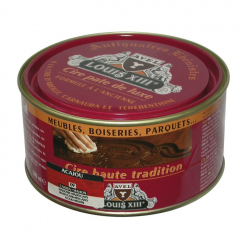 Cire pate de luxe haute tradition Louis13 teinte acajou 500ML