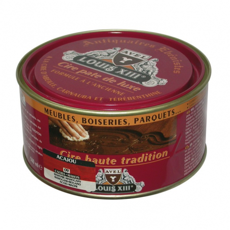 Cire pate Louis13 500ml acajou