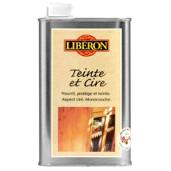 Teinte et cire Liberon bois vieilli 0,5l