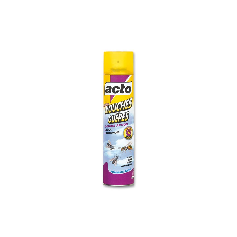 acto mouches gu pes bombe 400ml insecticide. Black Bedroom Furniture Sets. Home Design Ideas